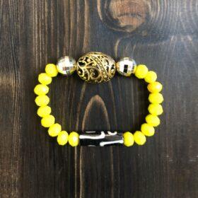 Золотой ключ бусина Дзи