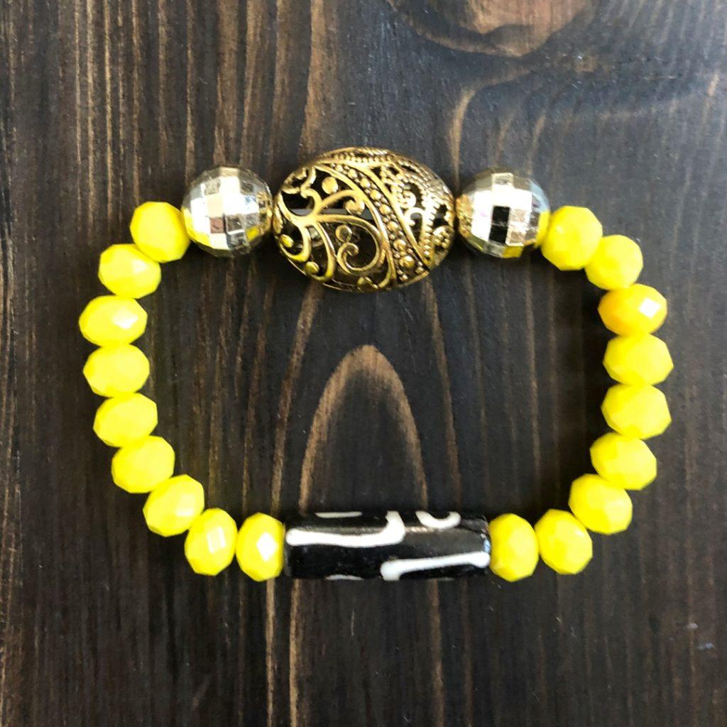 Золотой ключ бусина Дзи - Бусины Дзи из натурального камня Тибет