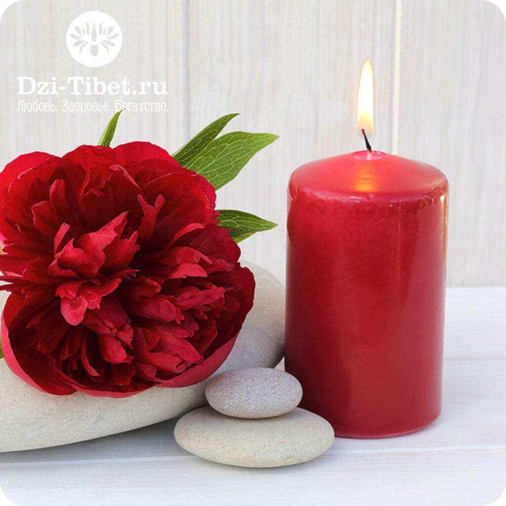 Красная свеча Фэн Шуй