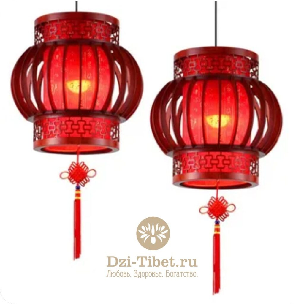Китайские фонарики Фэн Шуй